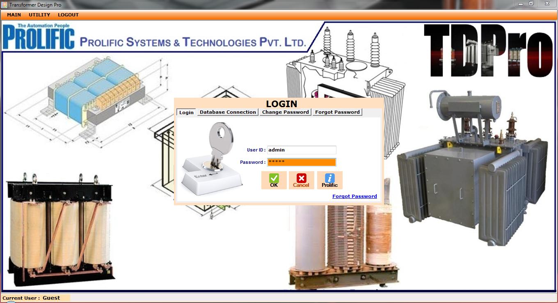 Prolific Transformer Design Software